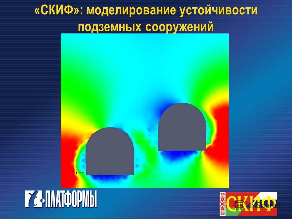 «СКИФ»: моделирование устойчивости подземных сооружений