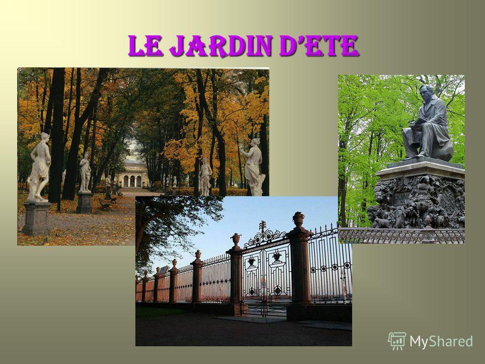LE JARDIN DETE