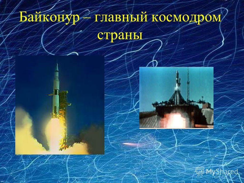 Байконур – главный космодром страны