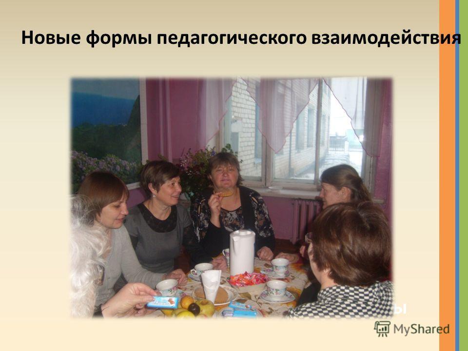 Новые формы педагогического взаимодействия Заседание проектно-сетевой группы