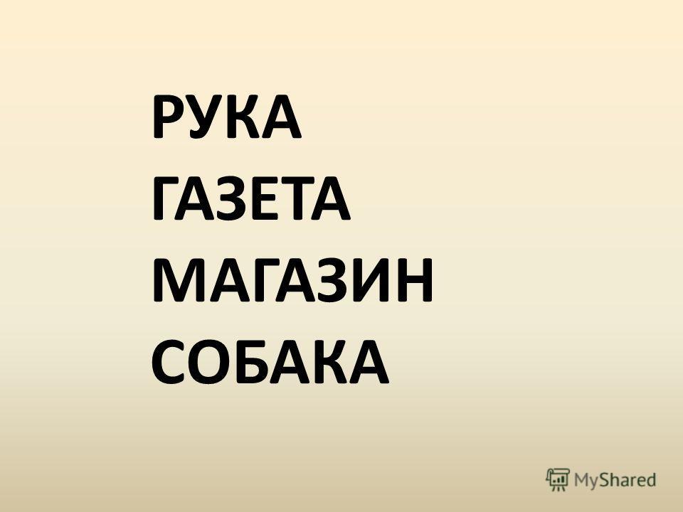 РУКА ГАЗЕТА МАГАЗИН СОБАКА