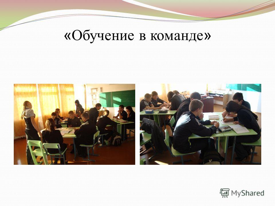 « Обучение в команде »