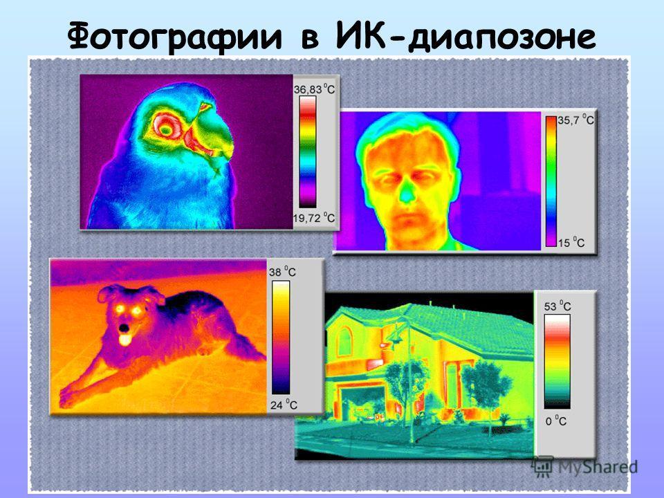 Фотографии в ИК-диапазоне