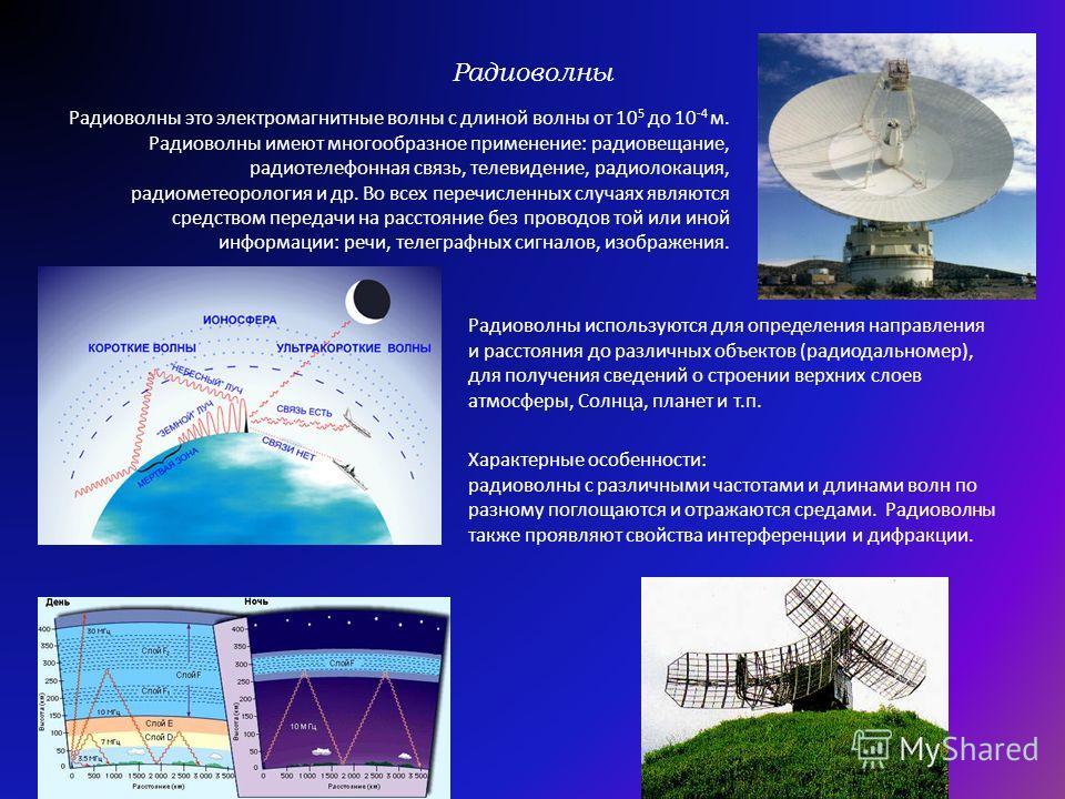 Виды электромагнитных излучений: радиоволны радиоволны инфракрасное излучение ультрафиолетовое излучение ультрафиолетовое излучение рентгеновское излучение гамма-излучение