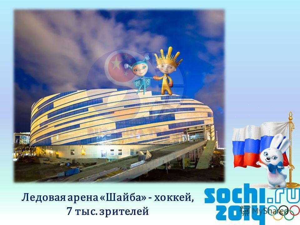Ледовая арена «Шайба» - хоккей, 7 тыс. зрителей