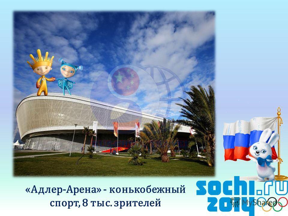 «Адлер-Арена» - конькобежный спорт, 8 тыс. зрителей