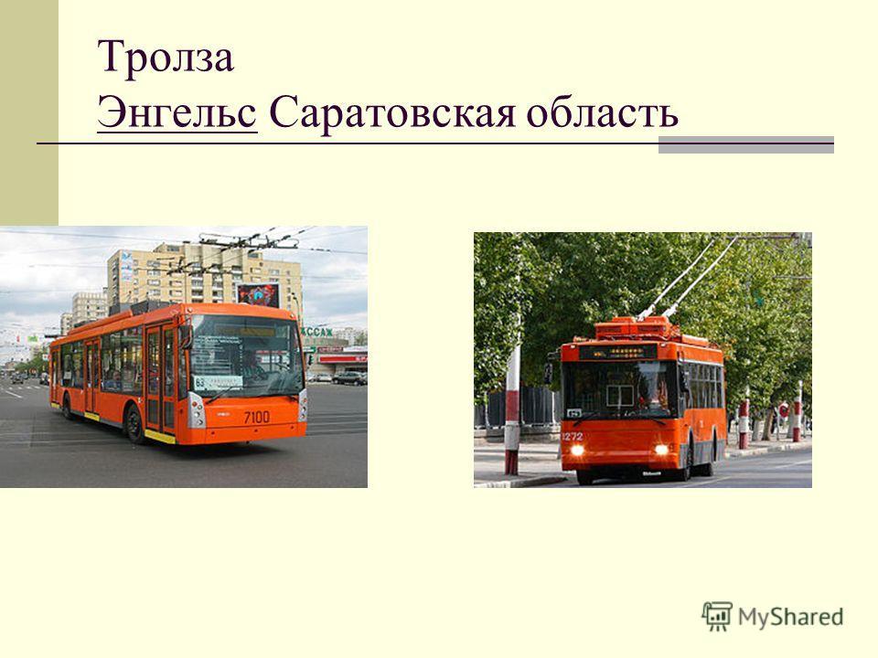 Тролза Энгельс Саратовская область
