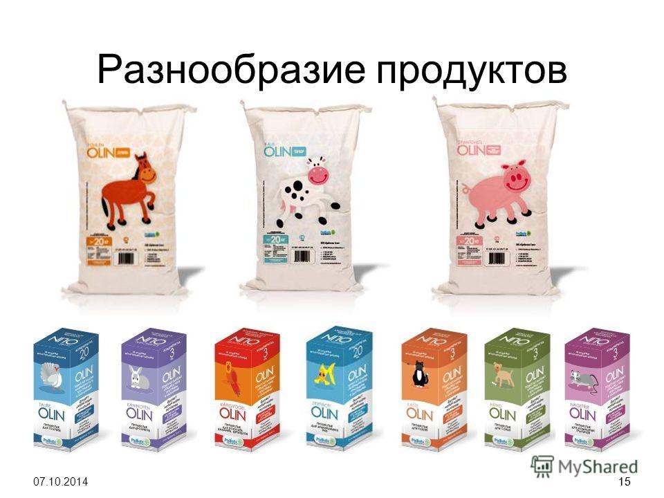 15 Разнообразие продуктов 07.10.201415