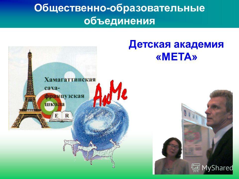 Общественно-образовательные объединения Детская академия «МЕТА»
