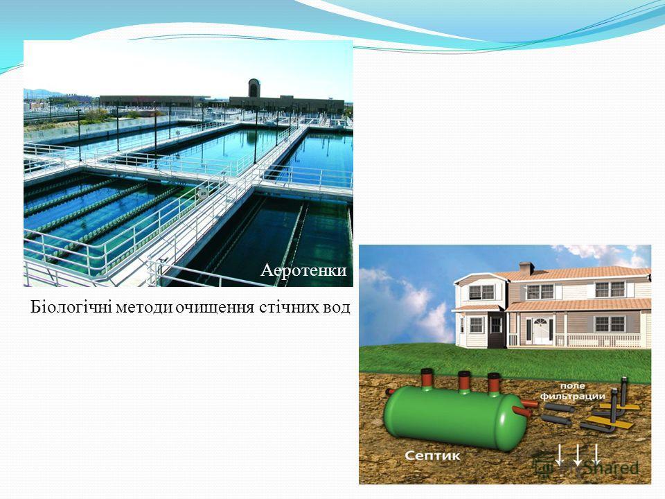Аеротенки Біологічні методи очищения стічних вод