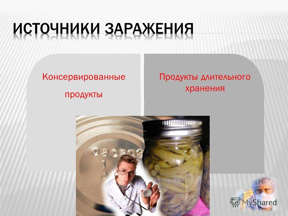 Консервированные продукты Продукты длительного хранения