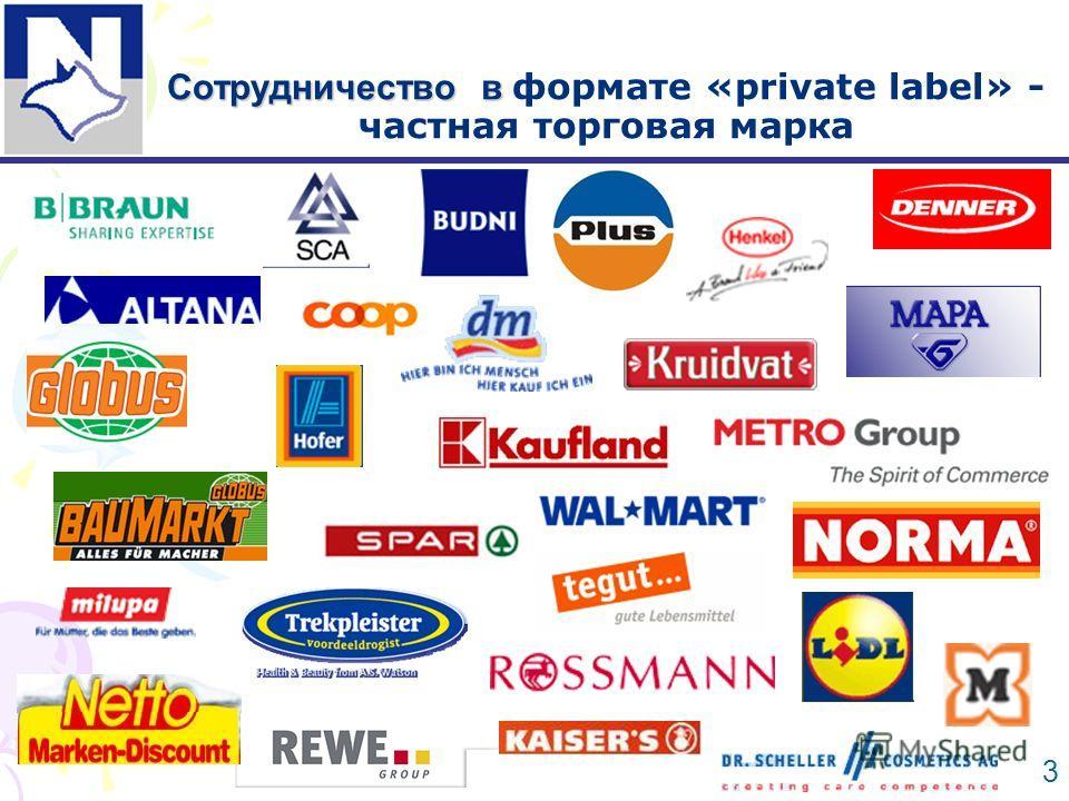 Сотрудничество в Сотрудничество в формате «private label» - частная торговая марка 3
