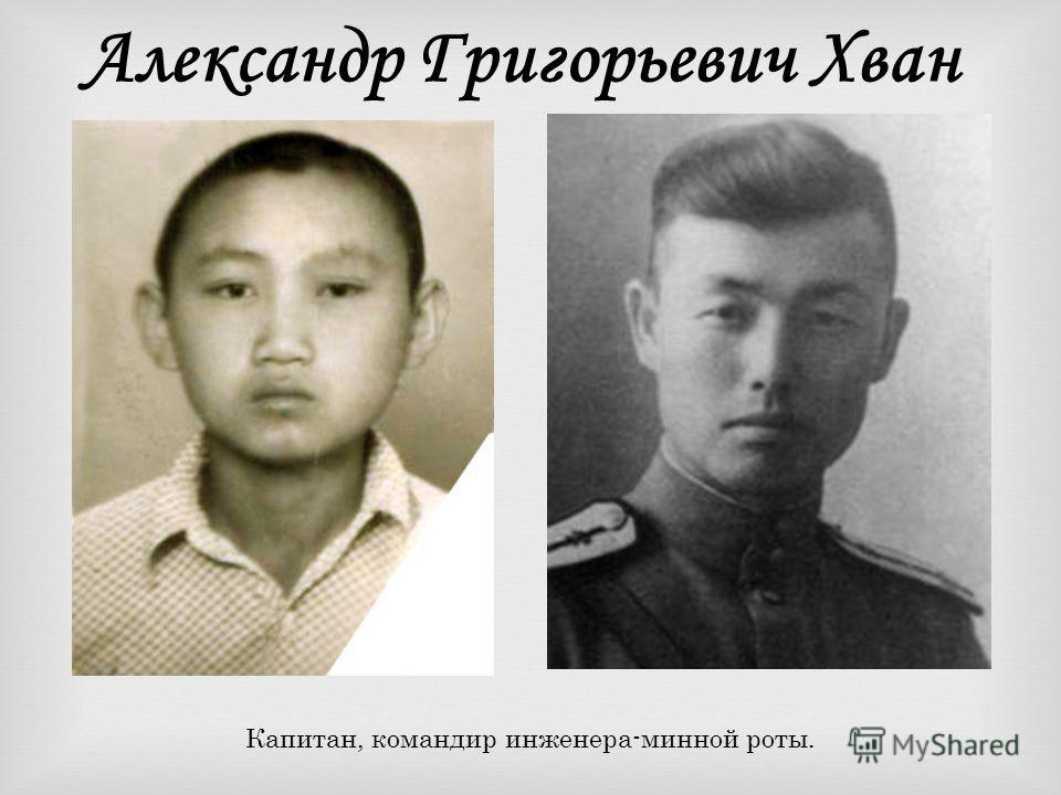 Ким Сын Бин Бывший ефрейтор личной охраны короля Кореи Коджона, участник Гражданской войны на Дальнем Востоке, в 1938 г. участник боевых действий у о. Хасан.