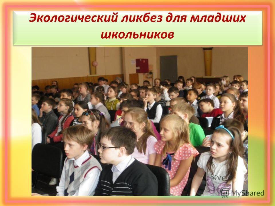 Экологический ликбез для младших школьников