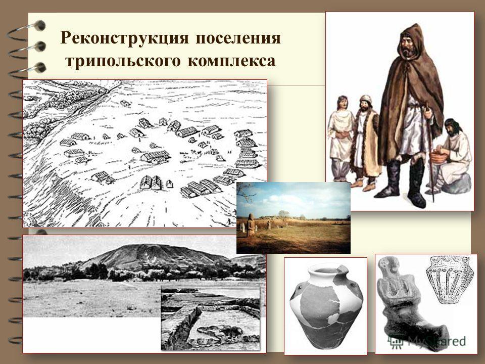 Реконструкция поселения трипольского комплекса