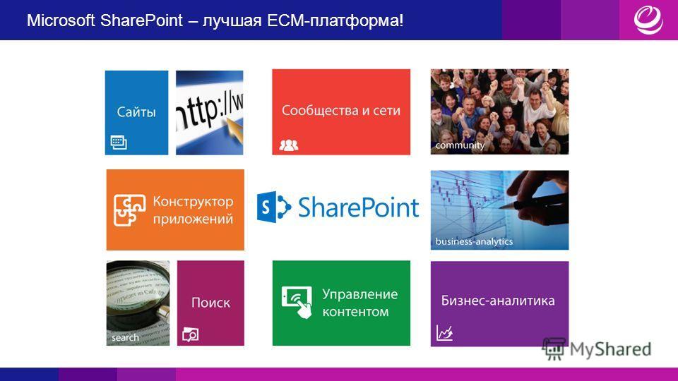 Microsoft SharePoint – лучшая ECM-платформа!