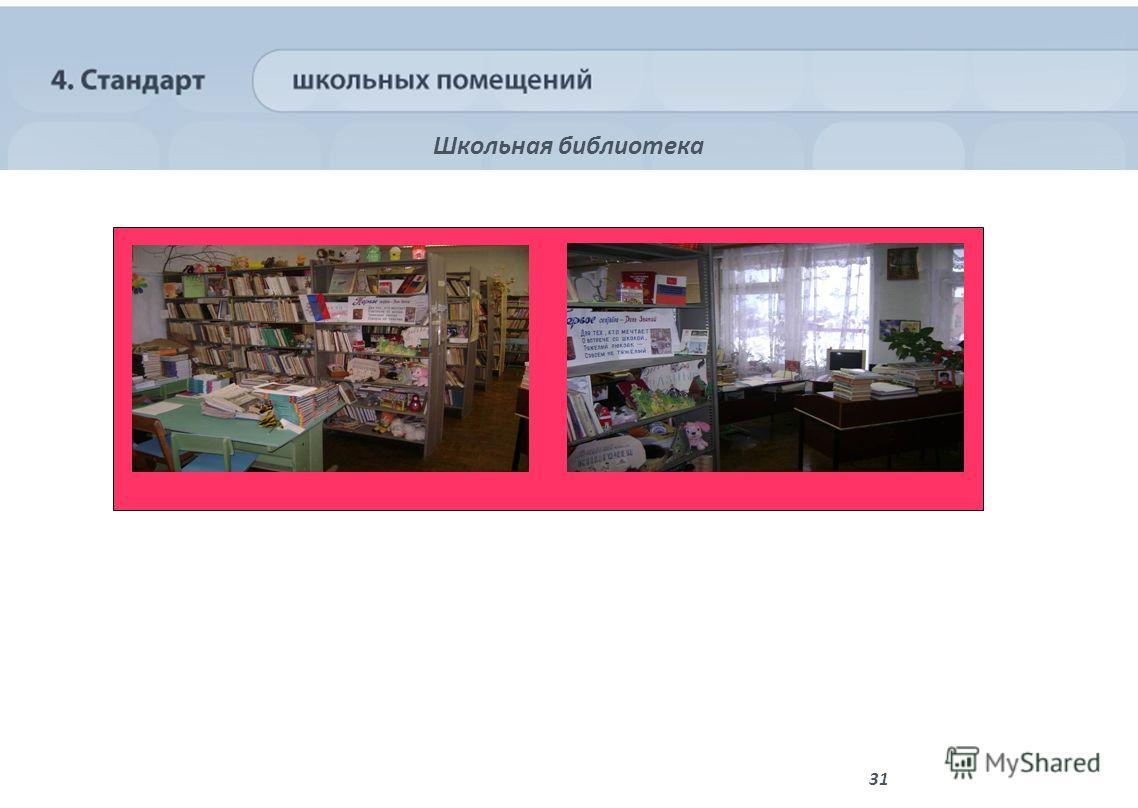 31 Школьная библиотека