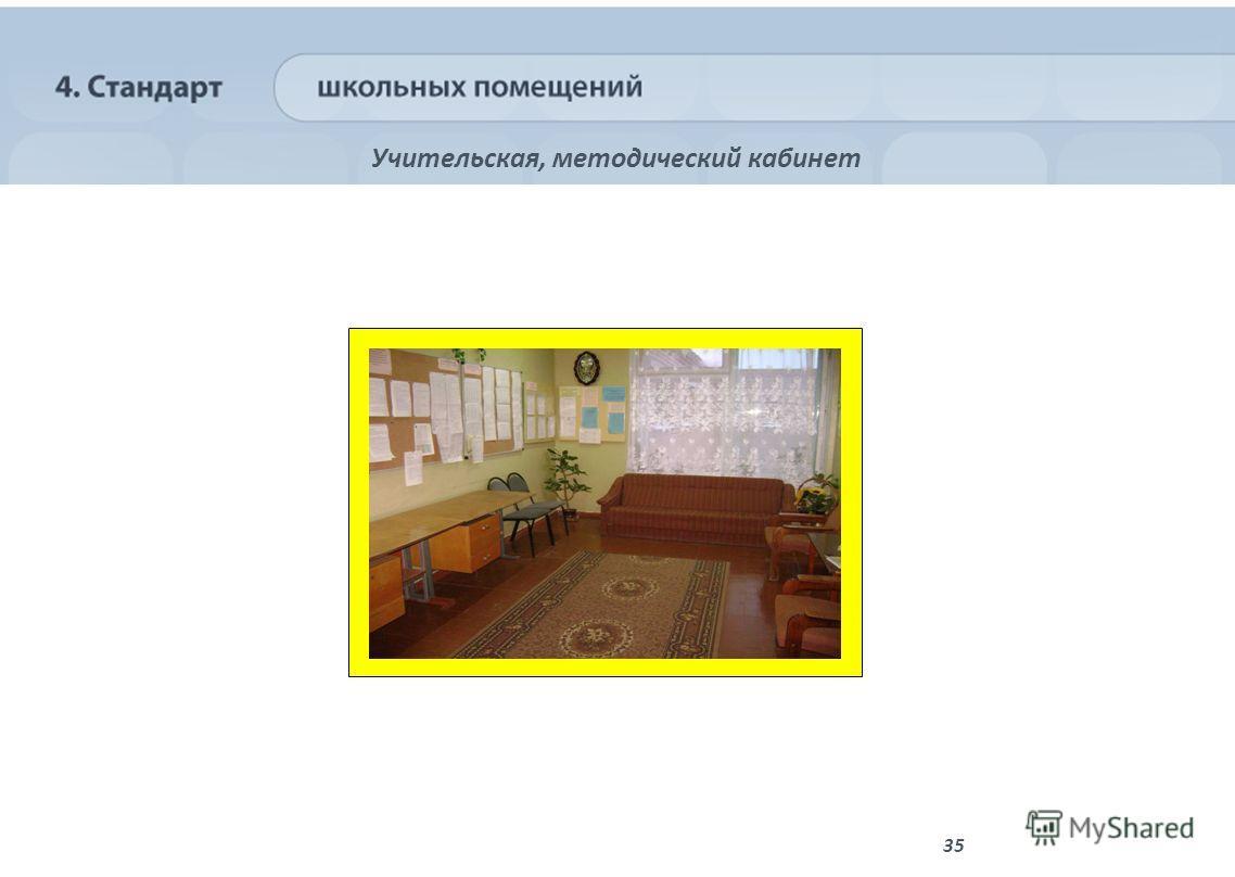 35 Учительская, методический кабинет