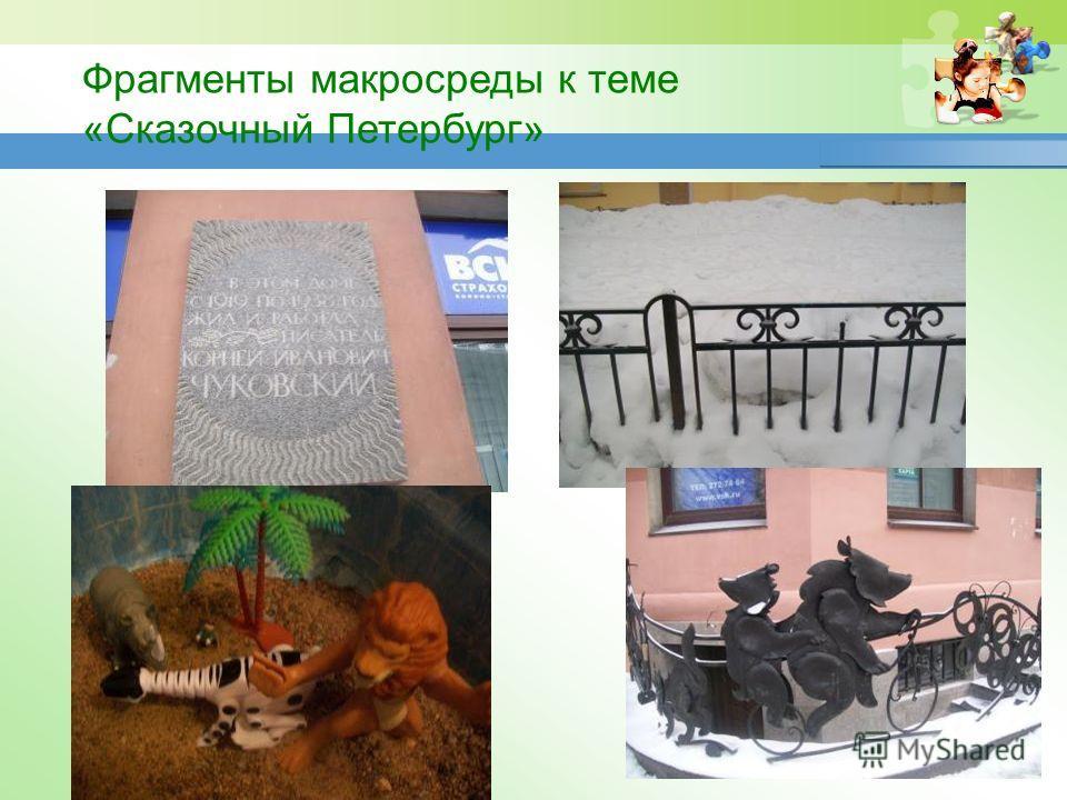 www.themegallery.com Фрагменты макросреды к теме «Сказочный Петербург»
