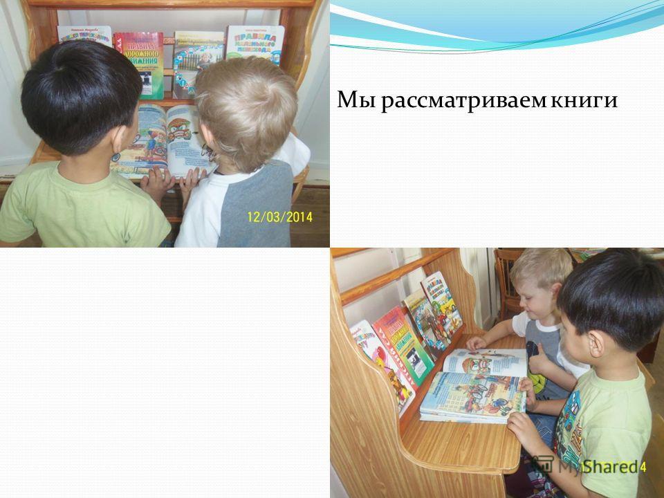 Мы рассматриваем книги