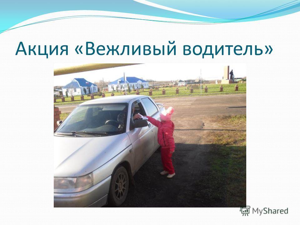Акция «Вежливый водитель»