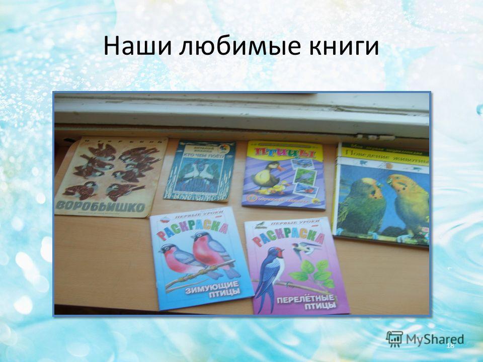 Наши любимые книги 18