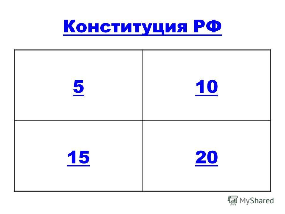 Конституция РФ 510 1520
