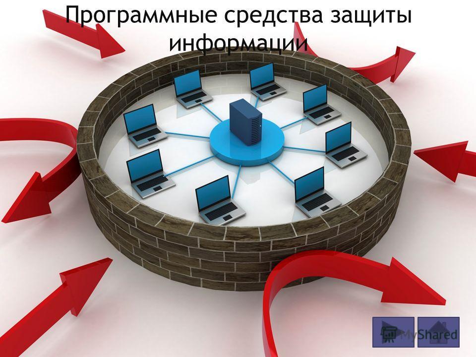 Программные средства защиты информации