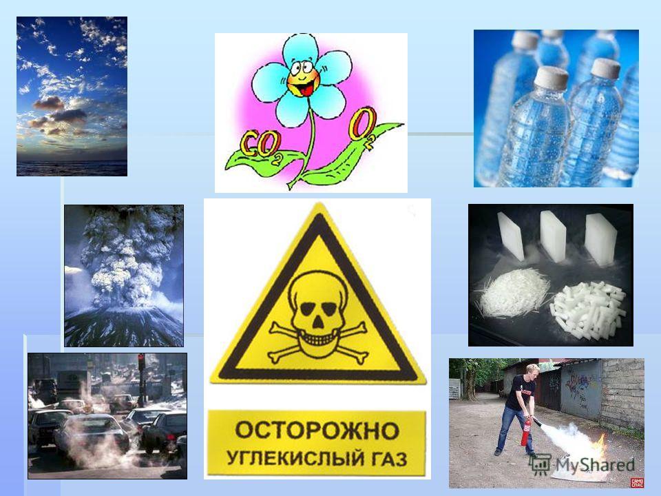 Оксид углерода(IV) СO 2 Углекислый газ газ