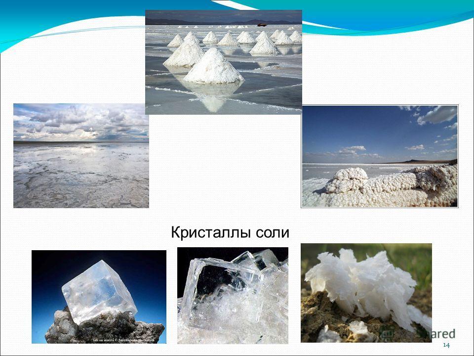 14 Кристаллы соли