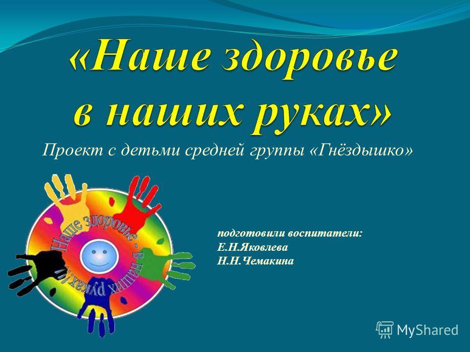 Проект с детьми средней группы «Гнёздышко» подготовили воспитатели: Е.Н.Яковлева Н.Н.Чемакина