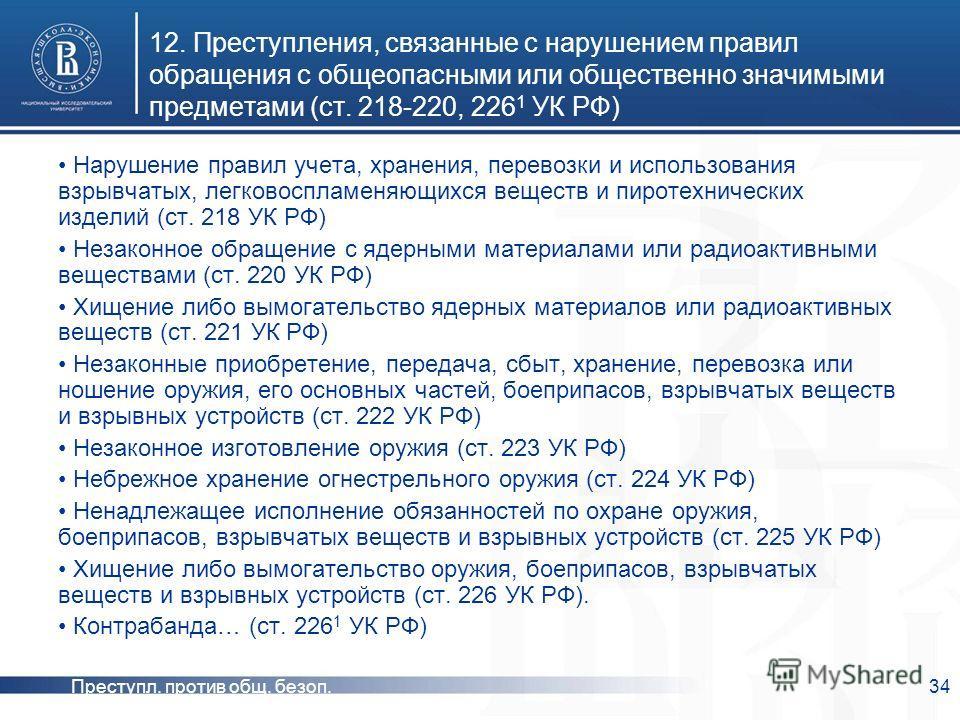 Ненадлежащее Исполнение Обязанностей Огнестрельного Оружия 225 Шпаргалка