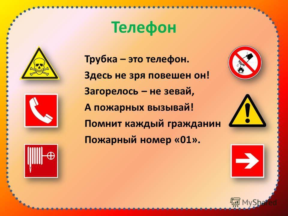 Тест «Знаки безопасности»