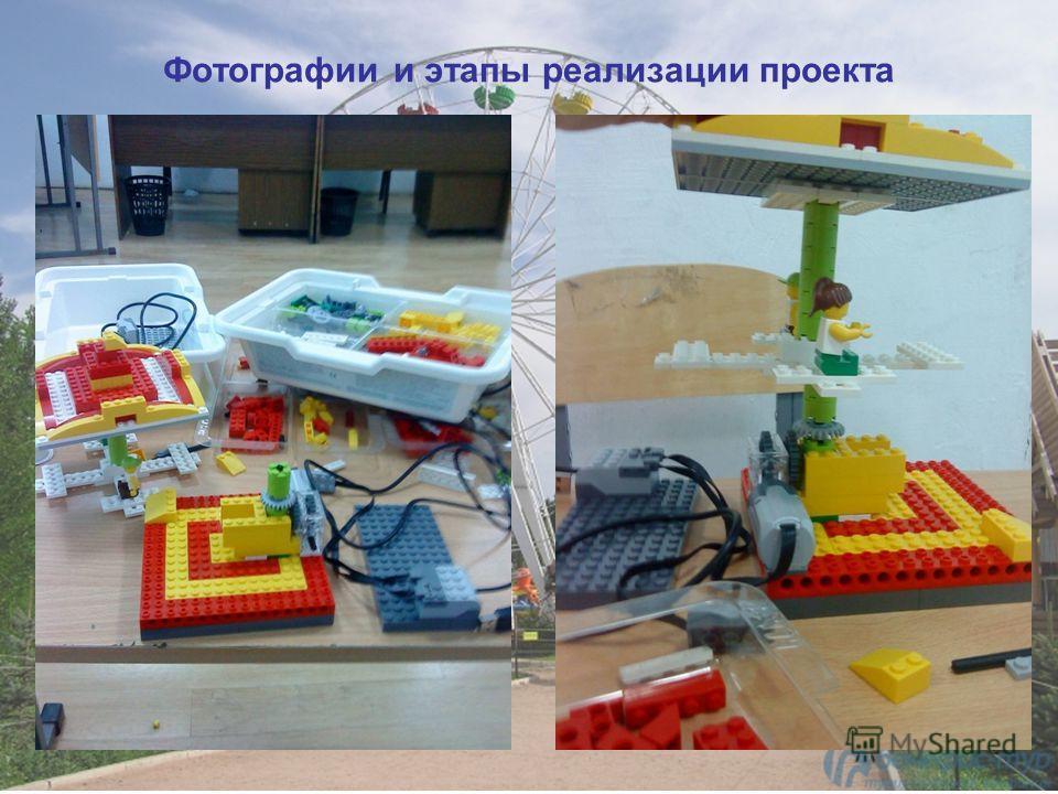 Фотографии и этапы реализации проекта