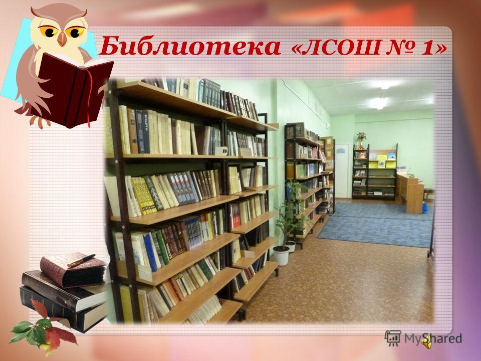 Библиотека «ЛСОШ 1 »