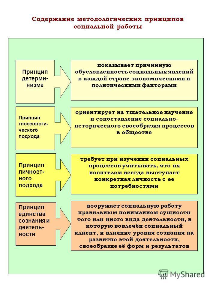 Принцип детерми- низма показывает причинную обусловленность социальных явлений в каждой стране экономическими и политическими факторами Принцип гносеологи- ческого подхода Принцип личност- ного подхода Принцип единства сознания и деятель- ности ориен
