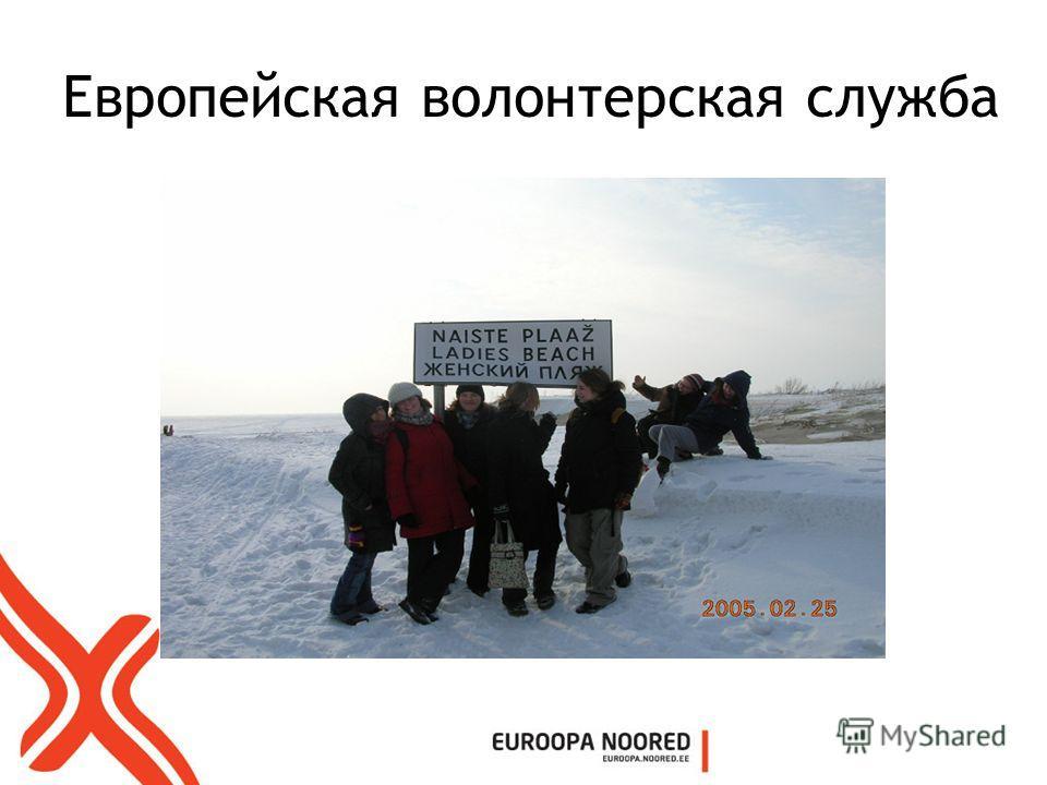 Европейская волонтерская служба