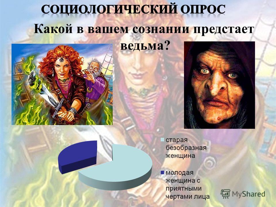 Какой в вашем сознании предстает ведьма?