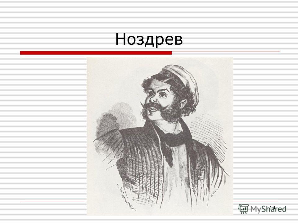 Яковлева Ю.Г.14 Ноздрев