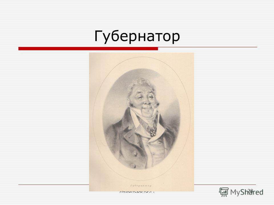 Яковлева Ю.Г.28 Губернатор