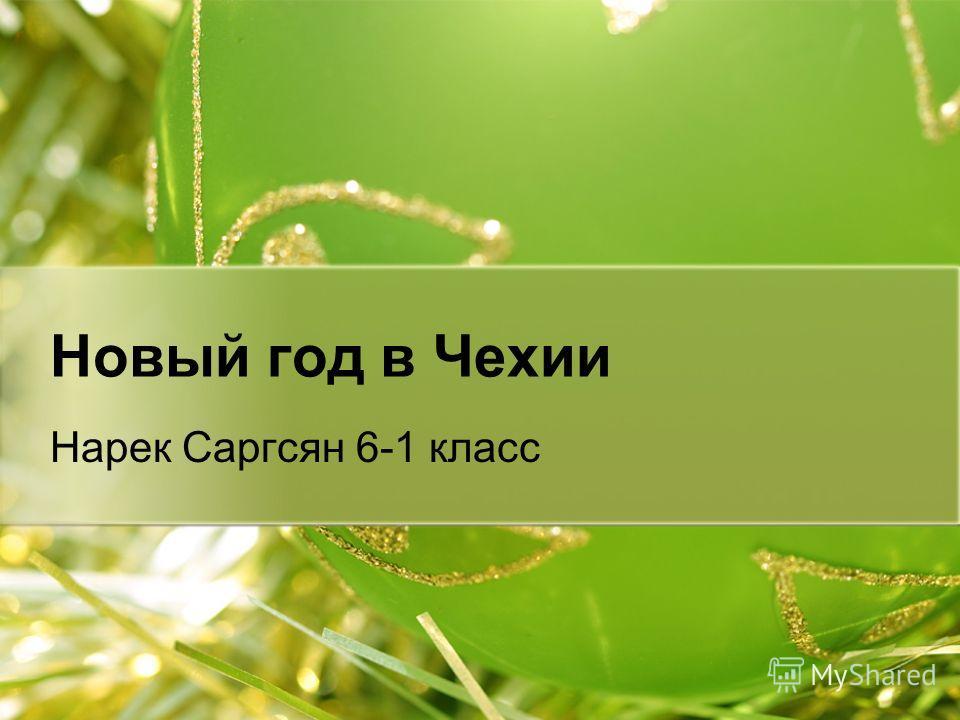 Новый год в Чехии Нарек Саргсян 6-1 класс
