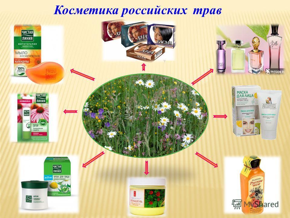 Косметика российских трав