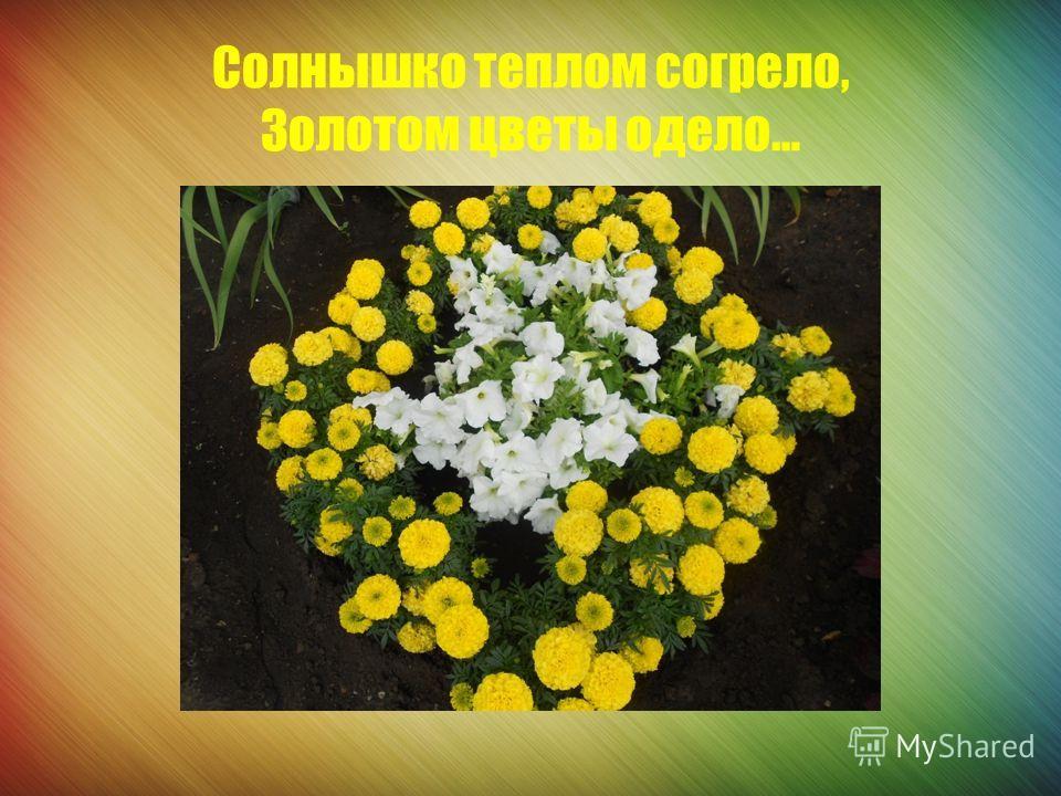 Вместе почву мы рыхлим, Цветочный рай с любовью создадим!