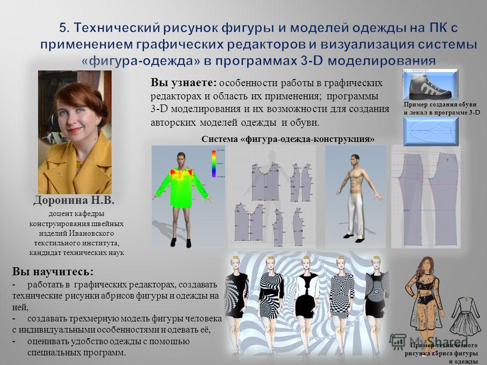 Программа Моделирования Одежды