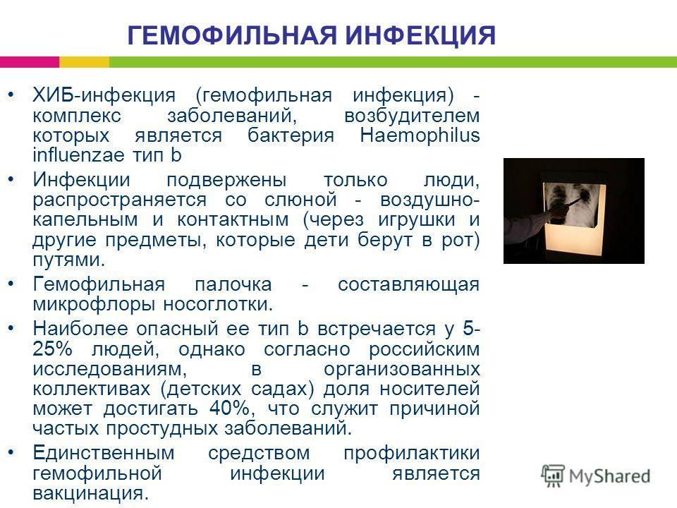 Гемофильная инфекция фото