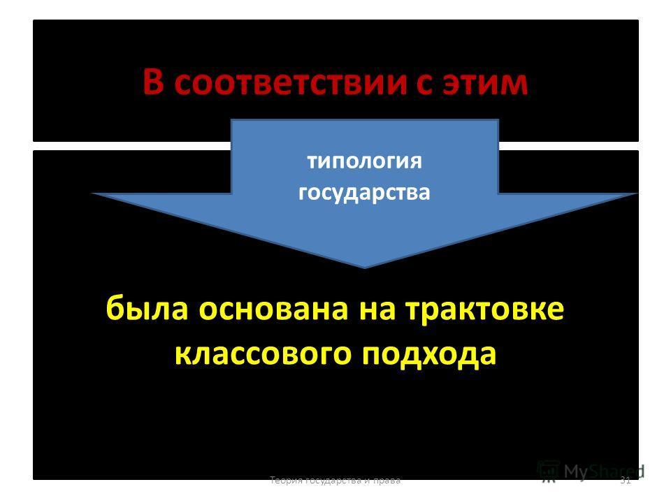 Исторический тип государства совокупность основных, важнейших черт государства определенной общественно- экономической формации, выражающих их классовую сущность Теория государства и права 30 ЭТО