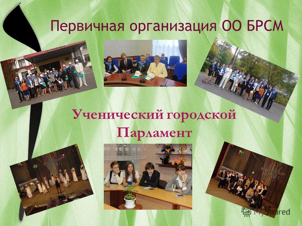 Ученический городской Парламент