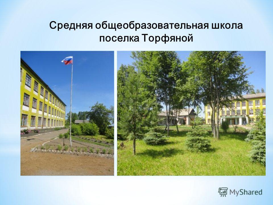 2 Средняя общеобразовательная школа поселка Торфяной