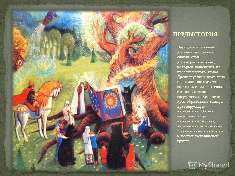 Ведение 1 Предыстория возникновения древнерусского языка Фонетика древнерусского языка 1 структура слога 2 Система гласных звуков 3 Система согласных звуков 4 Лексика 5 1 многозначность 6 Морфология древнерусского языка 7 1 имя существительное 8 2 им