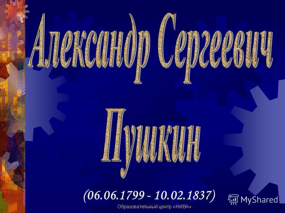 Образовательный центр «НИВА» (06.06.1799 - 10.02.1837)